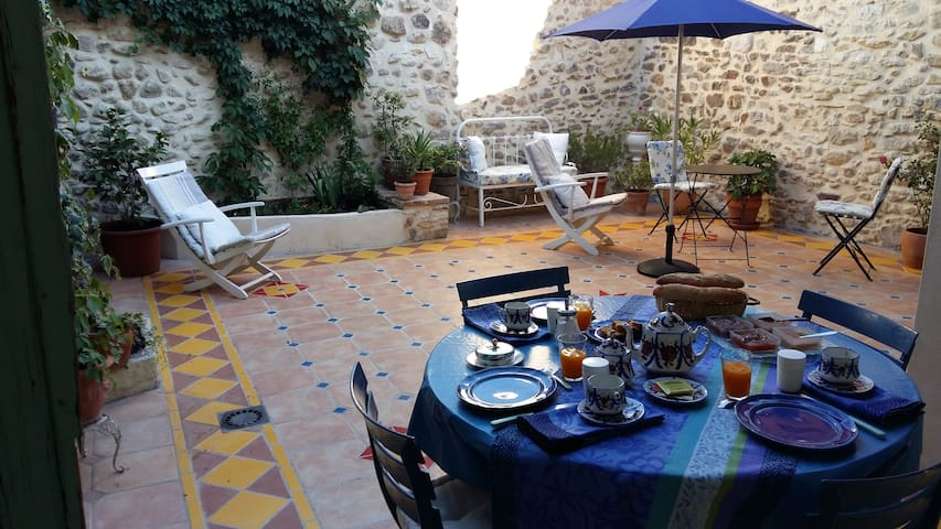 La Maison de Saint Victor - Family suite - Saint-Victor-de-Malcap - Bed & Breakfast