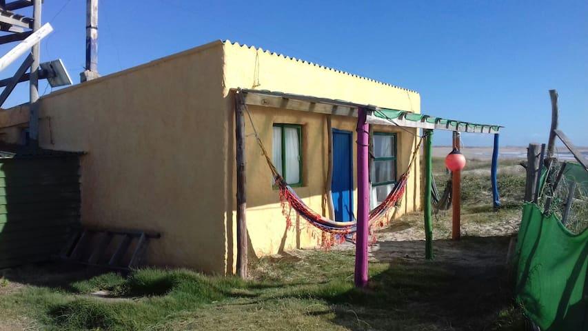Hermosa casa en  Cabo Polonio - Playa Norte
