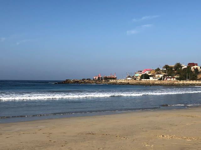 Departamento nuevo y acogedor a pasos de la playa
