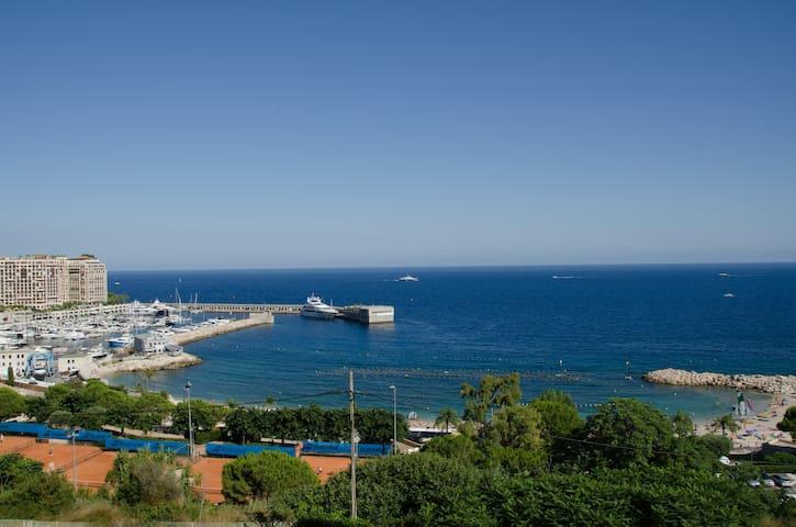 Duplex vue mer aux portes de Monaco