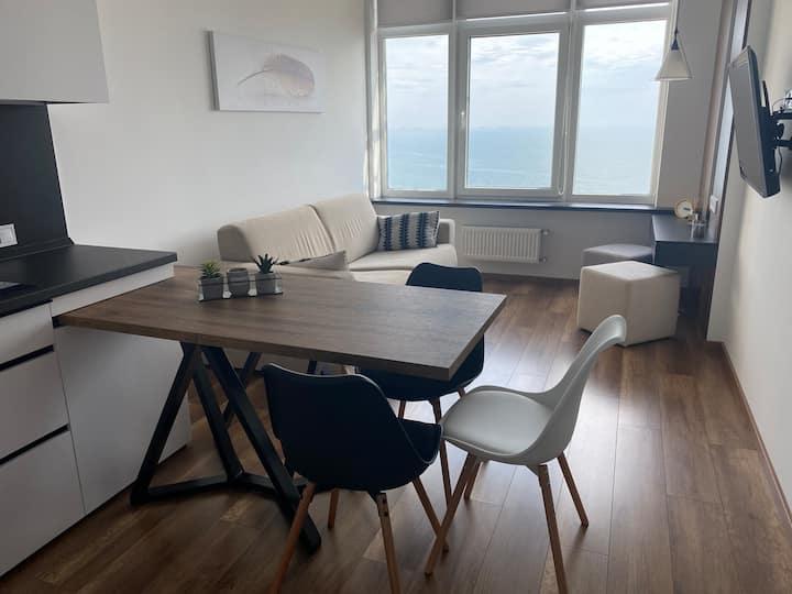 Красивая и уютная квартира вблизи моря