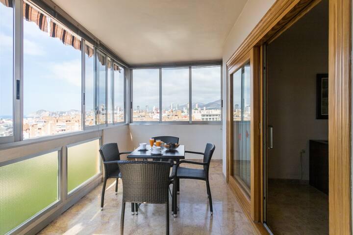 Céntrico apartamento en Benidorm