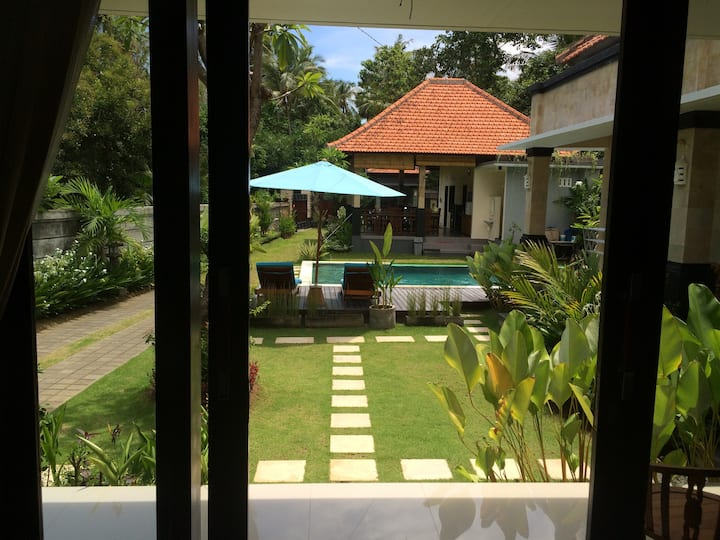 Pondok Ardi villa with pool view
