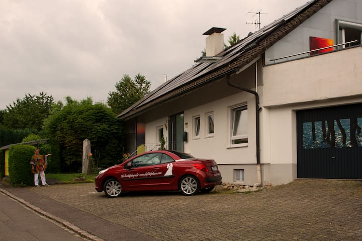 Avantgarde-Living im Bilderhaus in Kandern - Kandern - Apartamento