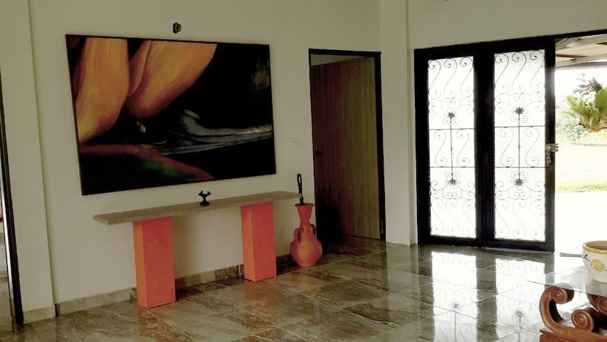 habitación privada en vía al mar km 28,5 - Dagua - Natuur/eco-lodge