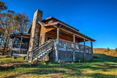 Top of the World; and views to prove it!  Spectacular mountain cabin. - Tuckasegee