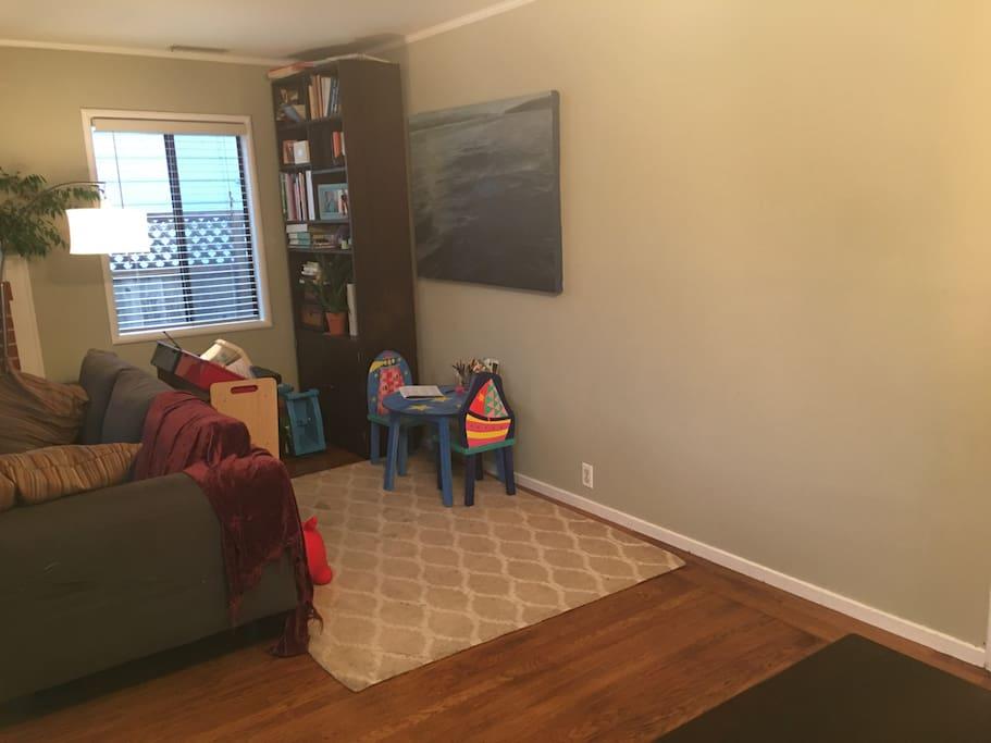 Living room - kids area