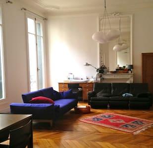 Appartement familial entre Parc Monceau et Etoile - Paris