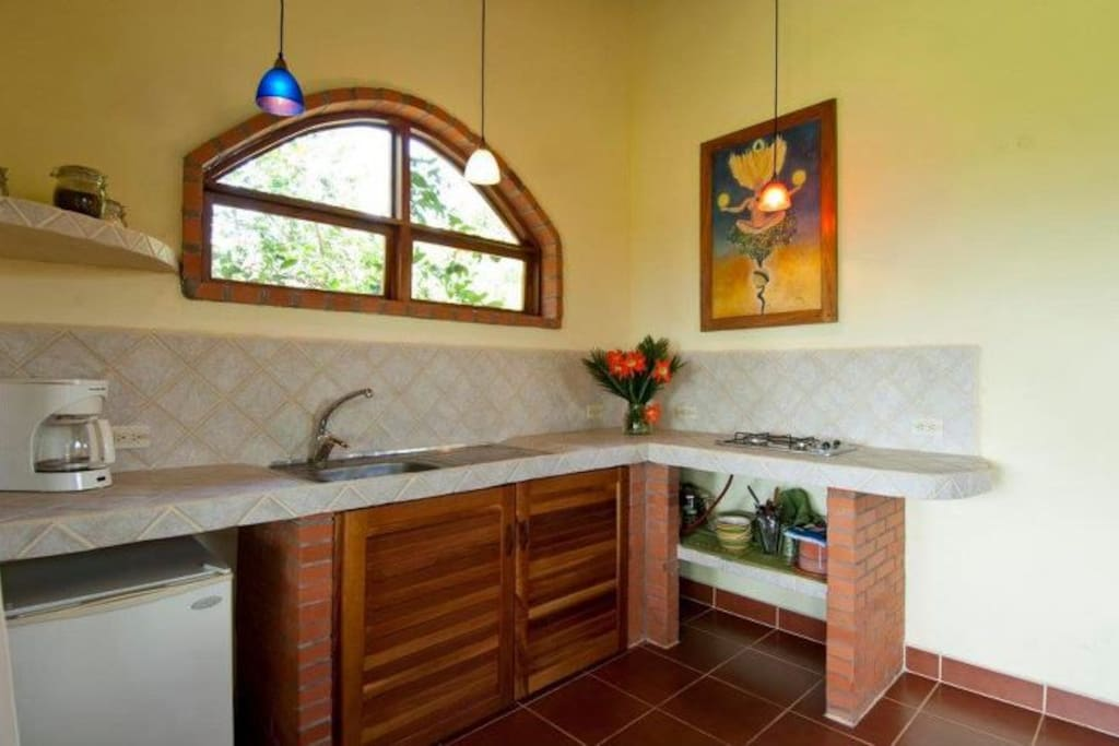 Villa Pericos has a lovely little kitchenette for your use.