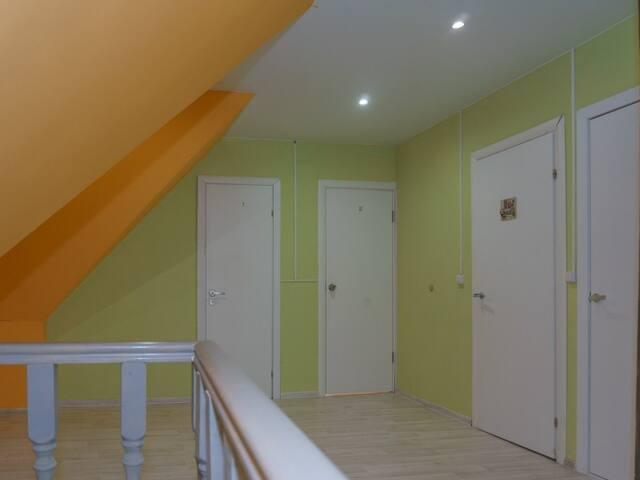 "Mezzanine 2. ""Forest tale"" guest house"