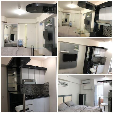 Bassura City Studio Apartment FullyFurnised.