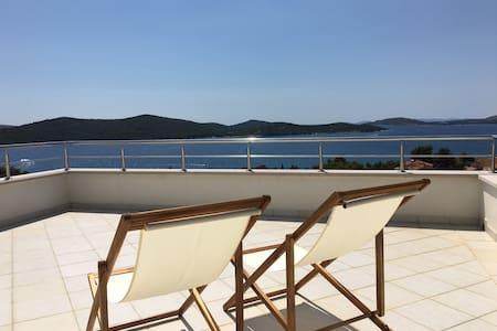 Amazing Mediterranean view villa Oliva - Žaborić