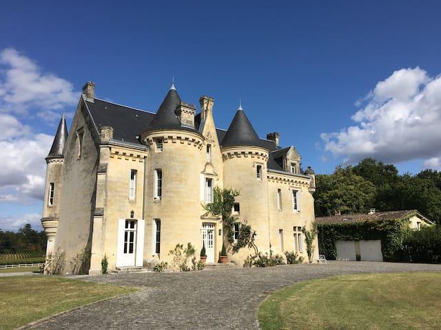 Luxury Château: Pool, Vineyard & Amazing Location