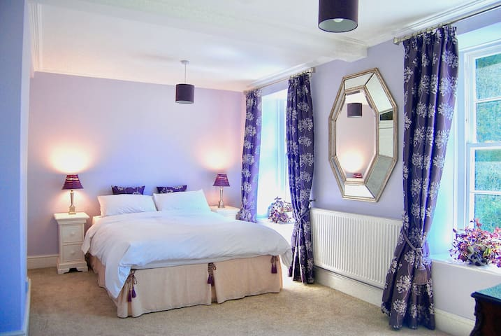 Blue Suite Apartment is situated in the 16th century part of the house
