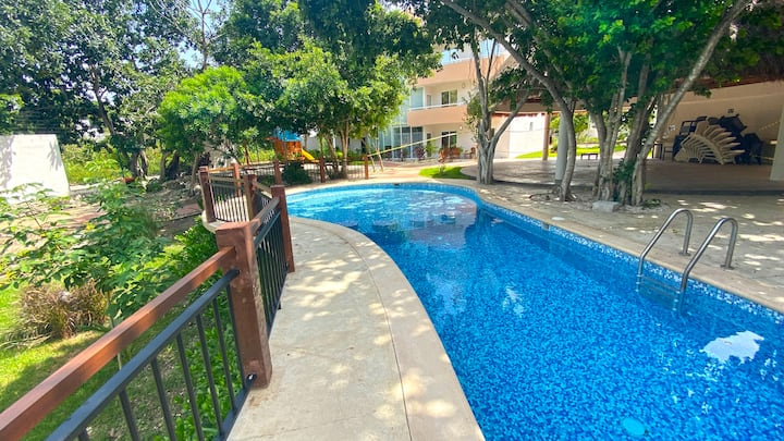 NEW !  4 Bedroom Casa Buddha in PUERTO MORELOS mx