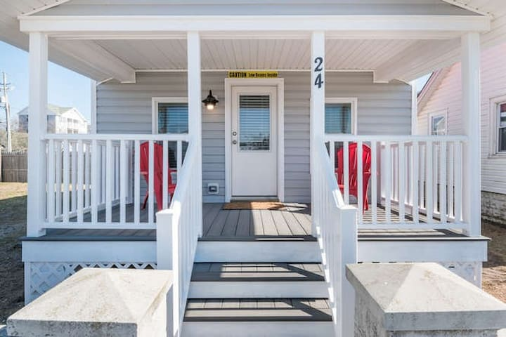 Downtown Cottage - Beach, Boardwalk & Bay 2 Blocks - Ocean City - Bungalow