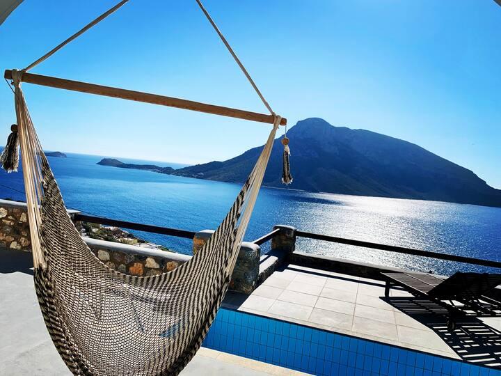 Kastelli Blu SKY, Luxury Pool Villa