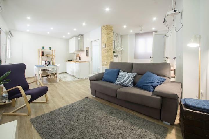 Loft moderne et confortable au centre d'Alicante