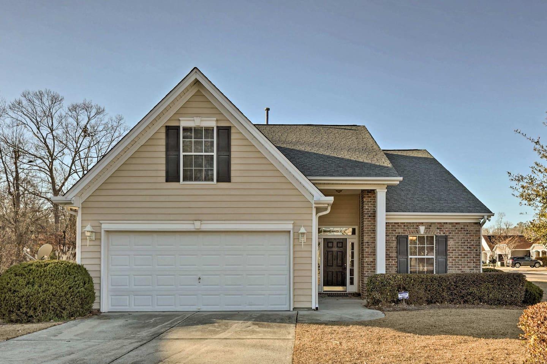 Plan your next South Carolina getaway to this charming vacation rental house.