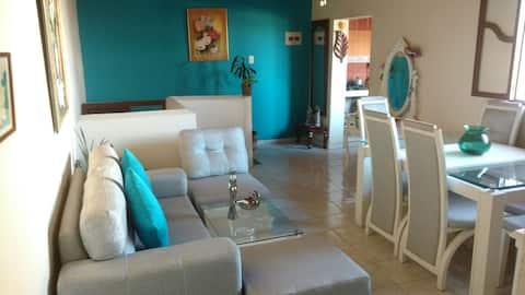 Super oferta habitación privada con  aire y wifi