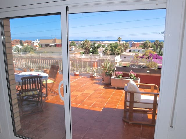 Penthouse at 900 meters from stunning beach - Calafell