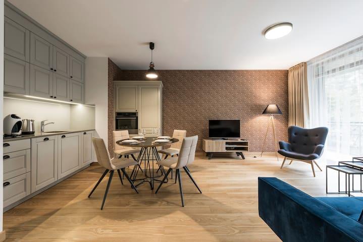 Autumn Apartment (1 bedroom, 52 sq.m) - Druskininkai - Apartment