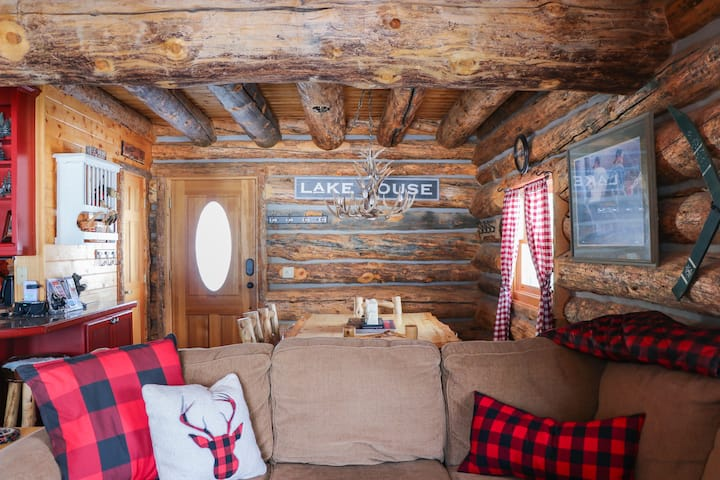 Log Home On Shadow Mountain Lake No Pets Cabins For Rent In Grand Lake Colorado United States