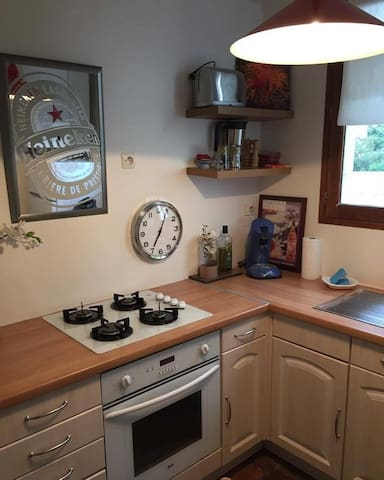 Cuisine équipée / Equipped kitchen