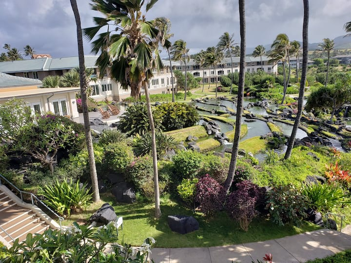 OCEAN VIEW 2-Bedroom Apt w/ Full Kitchen in Poipu!