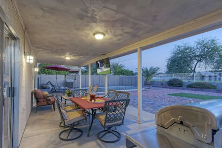 DIVINE Home w/Painted Mt Golf Views; Private Htd Pool