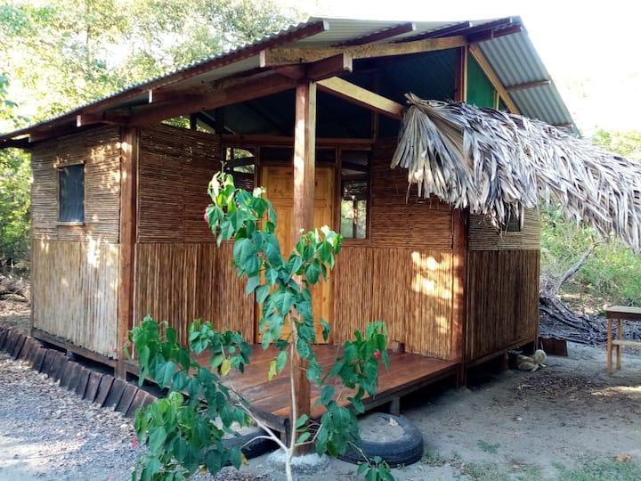 MEMANTA Rustic Cabin on beachfront property