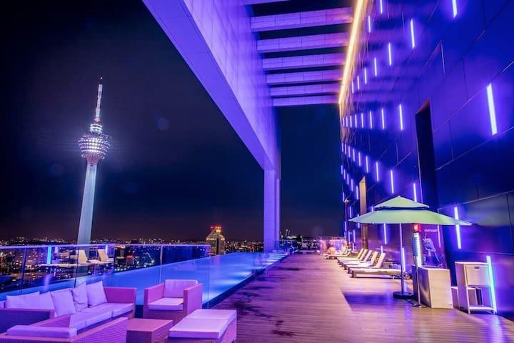 MARVELOUS 2BR SUITES-KL CITY 吉隆坡网红民宿2房套房#10