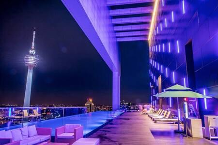 MARVELOUS 2BR SUITES-KL CITY 吉隆坡网红民宿2房套房#29