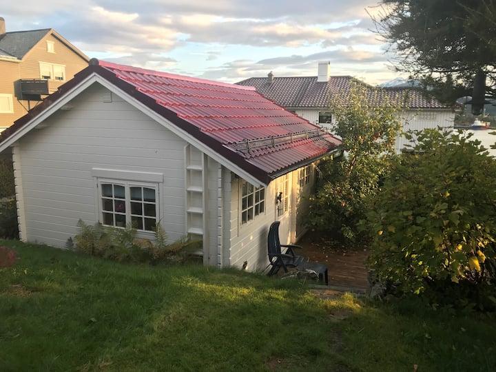Hytte / Gjestehus sentralt mellom Ålesund og Moa
