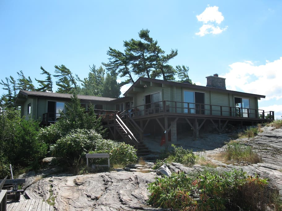 beautiful cottage on georgian bay cabins for rent in ForGeorgian Bay Cabin Rentals
