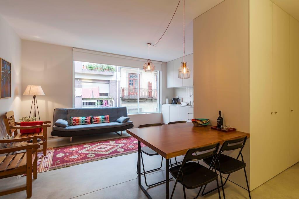 Design apartment porto city centre appartements louer for Design apartment milano city center duomo