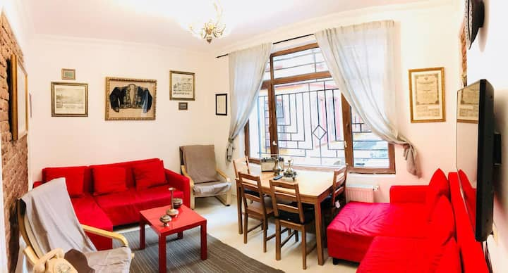 Economic Flat Central&History Istanbul/Taksim