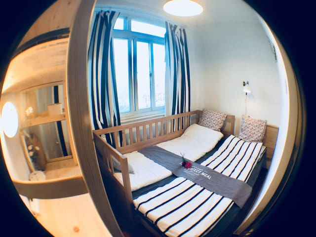 胡同·外#整套舒适小屋#历史街区大马路酒店公寓地铁450米