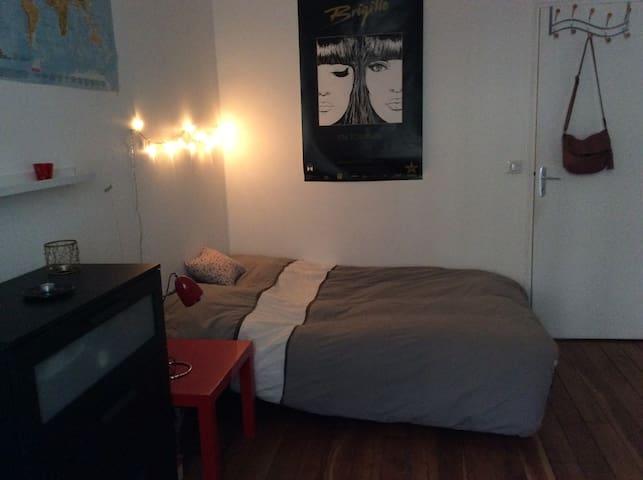 Paris : chambre double 20eme
