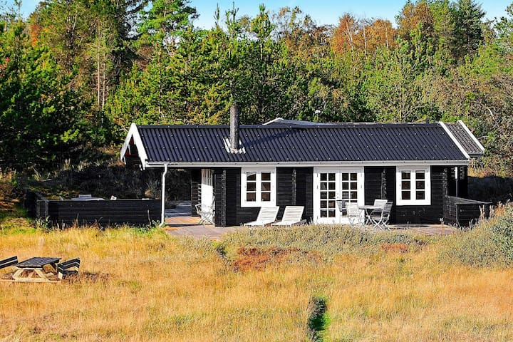 Placid Holiday Home in Albaek Denmark with Terrace