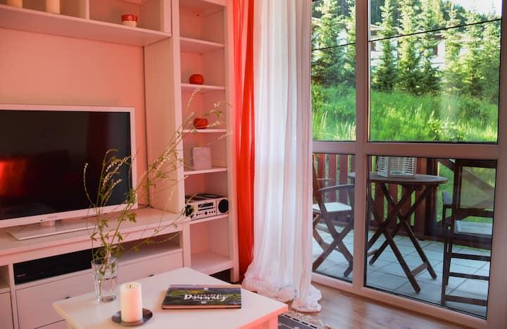 Štýlový apartmán v srdci Donovalov