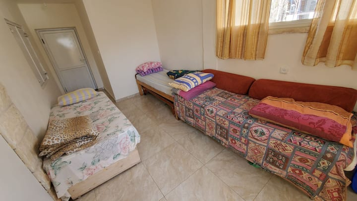 Budget suite in the old city of Safed.
