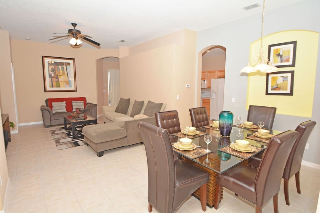 Dining Table/Family Seating Area
