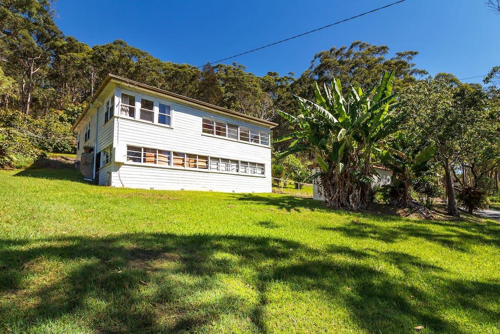 A casa del sol rural house cottage in affitto a blueys for Piani casa del sud del cottage