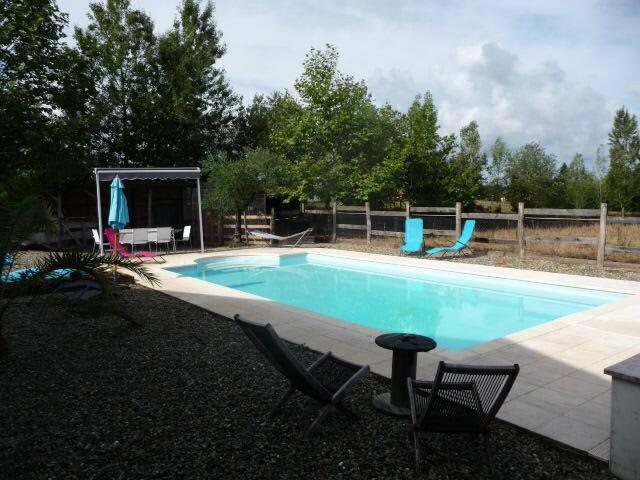 Studio 3 pers, piscine chauffée partagée