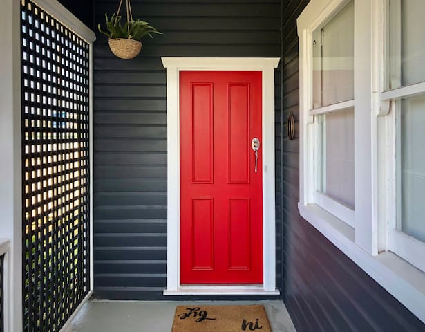 The One With The Red Door