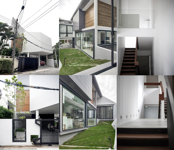 Architect-designed house hipster Ari Bangkok