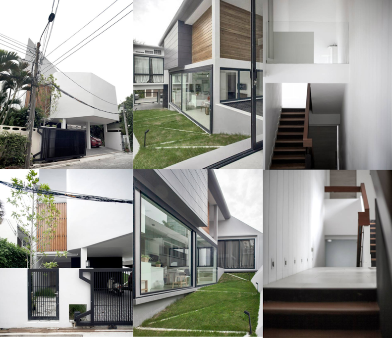 Architect-designed house