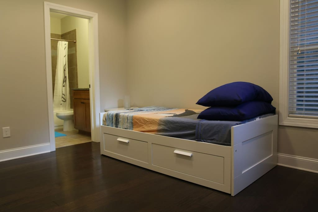 Your bed in twin configuration