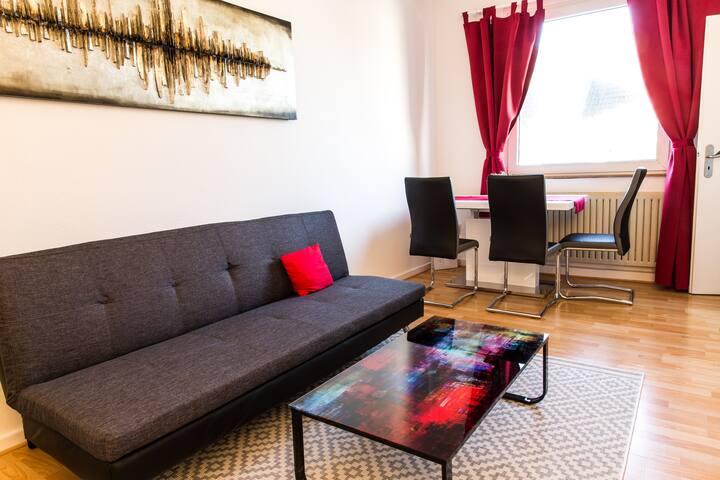 Chic apartment in Düsseldorf - Düsseldorf - Daire